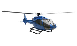 Modern helicopter isolated Stock Image