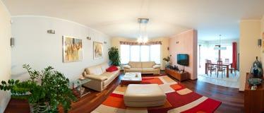 Modern hemmiljö Fotografering för Bildbyråer