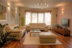 modern hemmiljö Royaltyfri Bild