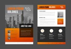 Modern het ontwerpmalplaatje van de bedrijfs collectief brochurevlieger Royalty-vrije Stock Foto's