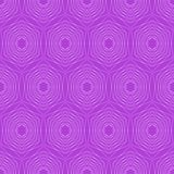 Modern hexagonal patterns. Hexagonal fine patterns in trendy purple. Seamless vector hexagonal patterns. Silver hexagonal patterns Stock Photos