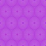 Modern hexagonal patterns. Hexagonal fine patterns in trendy purple. Seamless vector hexagonal patterns. Silver hexagonal patterns. On vivid purple background Stock Photos