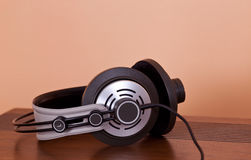 Modern Hi-Fi Stereo Headphones Stock Photo