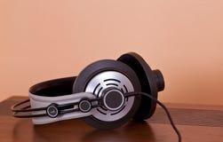 Modern Hi-Fi Stereo Headphones Stock Photo