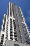 Modern Hi-Rise Apartments Royalty Free Stock Image