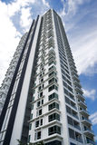 Modern Hi-Rise Apartments Stock Photo