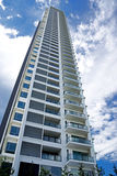 Modern Hi-Rise Apartments Royalty Free Stock Photos