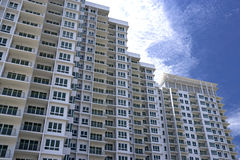 Modern Hi-Rise Apartments Royalty Free Stock Photo