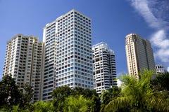 Modern Hi-Rise Buildings Stock Images