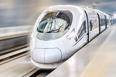 Modern Hi-Speed  Passenger Train. Stock Photography