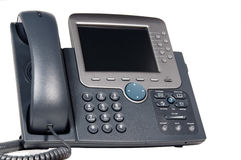 Modern hi tech business phone Royalty Free Stock Photos