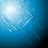 Modern hi-tech vector background Royalty Free Stock Photos