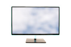 Modern high definition computer monitor Stock Photo