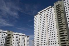 Modern High Density Housing. Image of brand new modern high density housing for sale in Malaysia stock photography