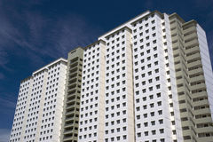 Modern High Density Housing Royalty Free Stock Photography