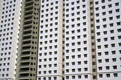 Modern High Density Housing Royalty Free Stock Image