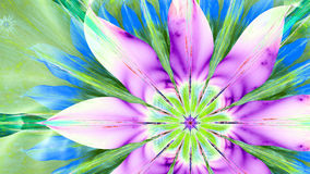 Modern high resolution flower background in vibrant colors Stock Image