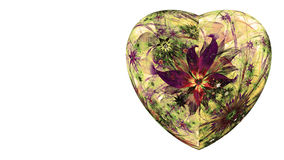 Free Modern High Resolution Heart Flower Background In Vibrant Colors Royalty Free Stock Photo - 64900345