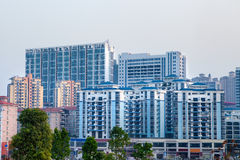 Modern high-rise apartment building Royalty Free Stock Image