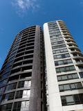 Modern High Rise Apartment Building Royalty Free Stock Image