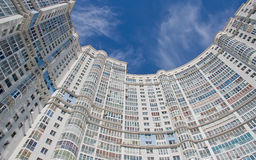 Modern high-rise apartment building. Stock Photography