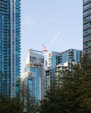 Modern high rise apartment building Toronto Royalty Free Stock Photos