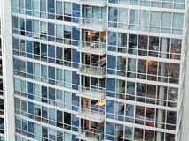 Modern High Rise Apartments Royalty Free Stock Image
