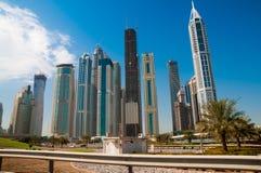 Modern high-rise buildings Royalty Free Stock Photos