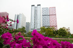 Modern high-rise buildings Royalty Free Stock Photography