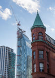 Modern high rise office building Toronto royalty free stock images
