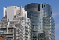 Modern high-rise office buildings Royalty Free Stock Photography