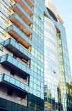 Modern high rise residential building. In the city of Chisinau royalty free stock photos