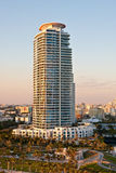 Modern High Rise Tropical Condo Royalty Free Stock Photography