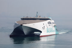 Modern high speed ferry boat Royalty Free Stock Photography