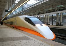 Modern High Speed Train Stock Photography