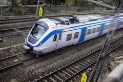 Modern high speed train Royalty Free Stock Photos