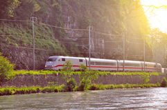 Modern high-speed train. Stock Photography