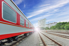 Modern high speed train Royalty Free Stock Image