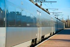 Modern high speed train Stock Image