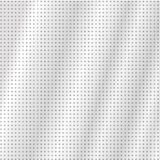 The modern high tech background of gray dots and a glow. royalty free illustration
