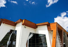 Modern high-tech style  building Stock Photo