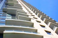 Modern highrise apartment Royalty Free Stock Photos