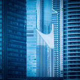 Modern highrise building detail Royalty Free Stock Photos