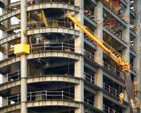 Modern Highrise Construction stock image