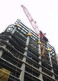 Modern Highrise Construction Site stock photo