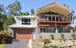 Modern highset house Stock Images