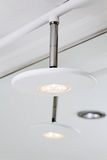 Modern hightech LEDDE lampan Arkivfoto