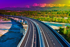 Modern Highway Royalty Free Stock Photos