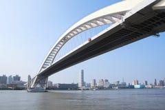 Modern highway bridge Royalty Free Stock Photography