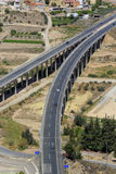 Modern highway, Lorca, Murcia, Spain Stock Photography
